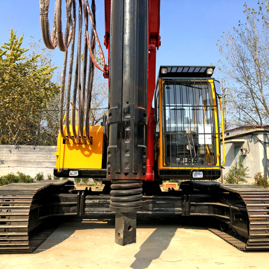 Hydraulic Bore Rotary Drilling Pile Rig Machine