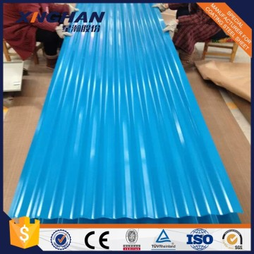 Color Coated Galvanized Steel Corrugated Roofing Sheet Roll