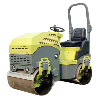 Wholesale 1 Ton Hydraulic Double Drum Compactor Roller