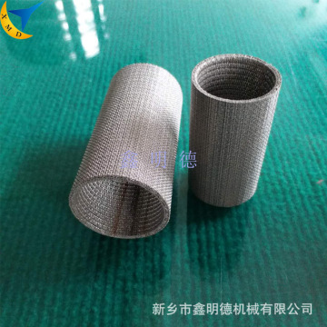 Hydraulic filter / sintered wire mesh filter cartridge