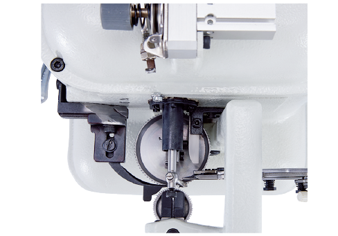 DIRECT DRIVE UPPER DRAWING MACHINE WITH PNEUMATIC TRIMMER AND PRESSER FOOT LIFTING FUNCTION-01
