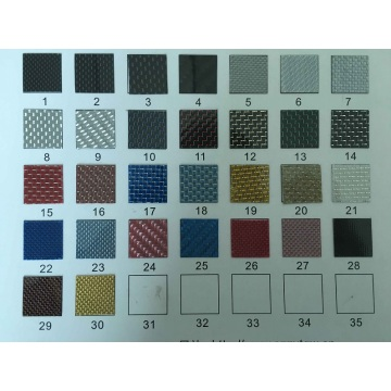 OEM&ODM Multicolor Carbon Fiber Furniture Board