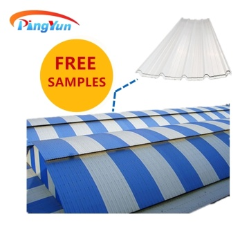 warehouse thermal lightweight UPVC roofing sheet
