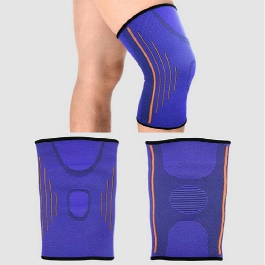 Hot sell athletics knee compression sleeve support