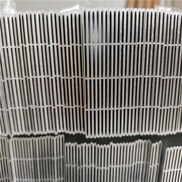 Multi port heat exchanger aluminum flat tube