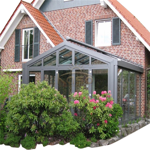 Glass House Elegant Aluminum Prefabricated Home Sunroom