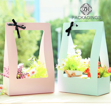 Hot selling Portable Flower Packing Bag