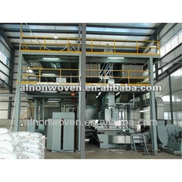 New PP nonwoven fabric production line