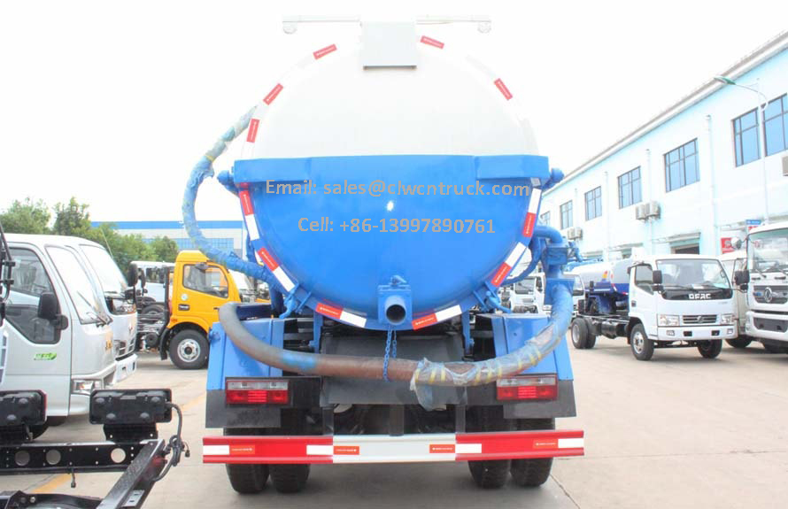 Sewage Disposal Trucks Price