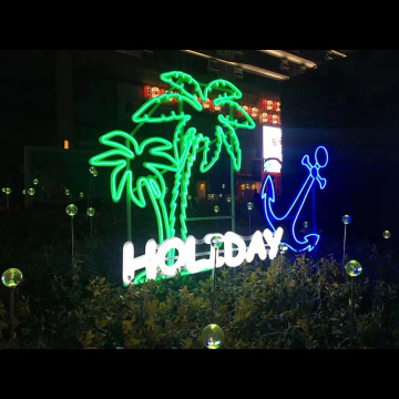 OUTDOOR DECORATION NEON SIGNS