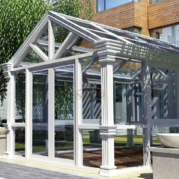 Different Color Aluminum Structure Sunroom With Deck