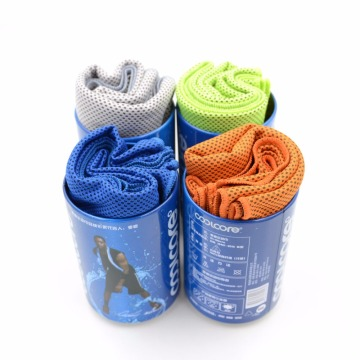 special designed package microfiber cooling towel cloth