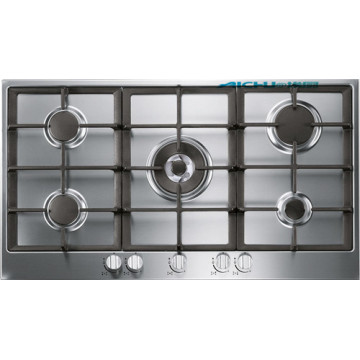 Kitchen Stove 5 Burners Glen India StainlessSteel