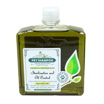 Olive essence pet grooming dog shampoo
