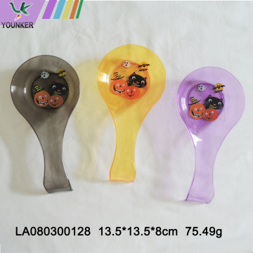Plastic decorations for Halloween tableware