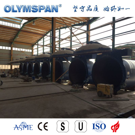 ASME standard cement block fabrication autoclave