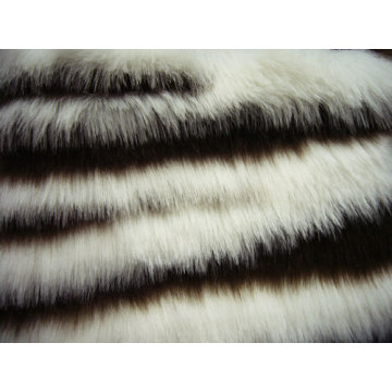 Top Knittting Jacquard Faux Fur