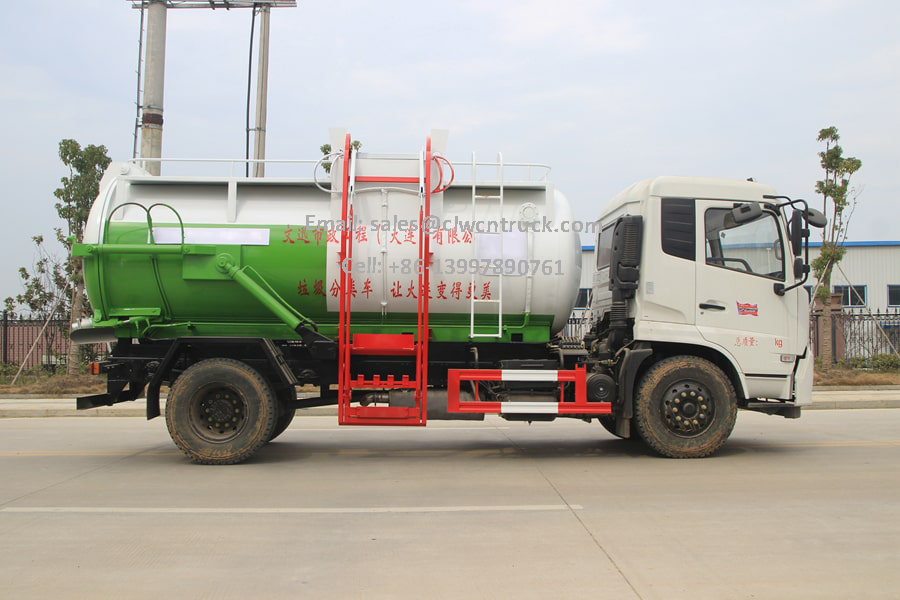 Recycled Oil Collection Truck Price