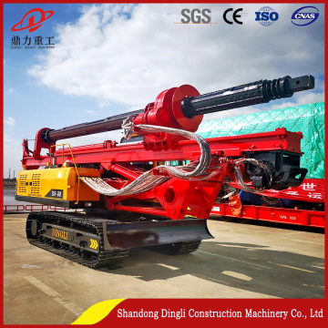 Hot sale high quality crawler rotary drilling rig