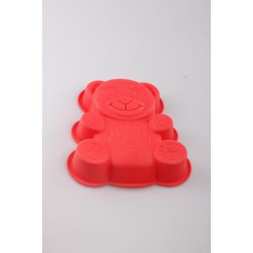 Bear shape baking mold