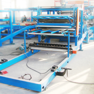 Fully automatic multifunctional sandwich panel roll forming machines