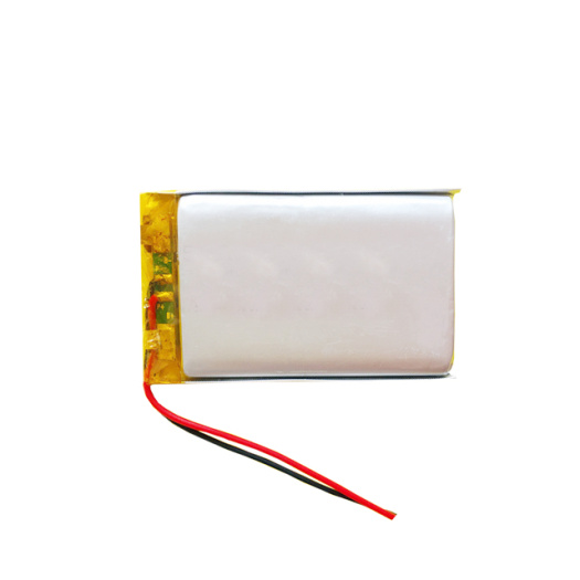 Rechargeable lipo battery 503048 750mah for wearable device