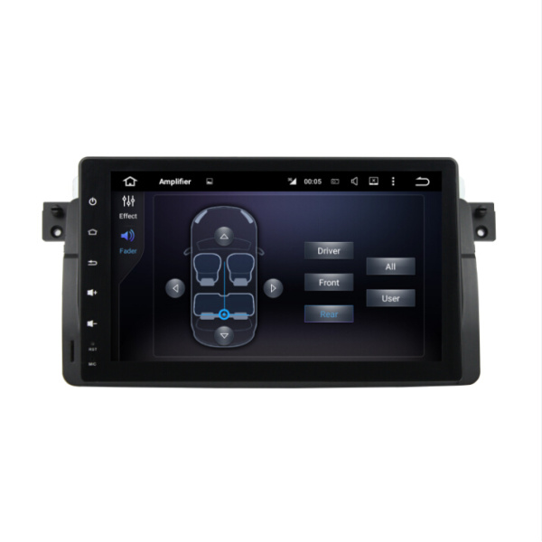 Quad core BMW E46 Android 7.1 car dvd