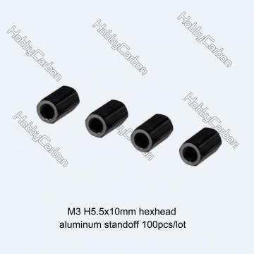 M3 Hexa Head 5.5mm Thread Aluminum Standoff