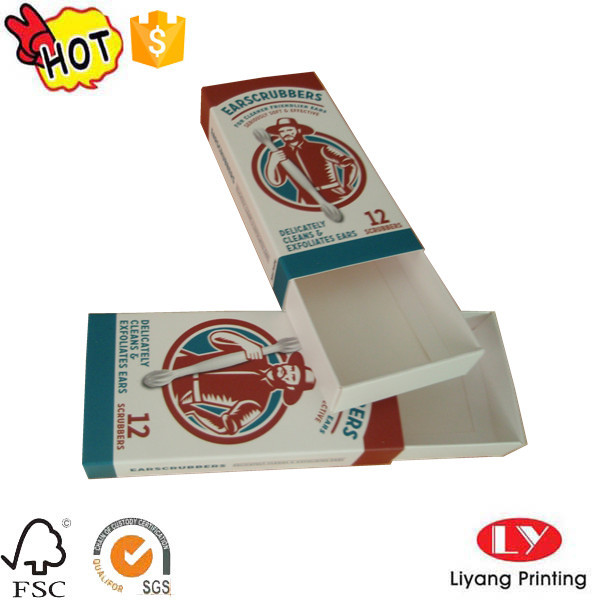 Paper customized match packaging box printing