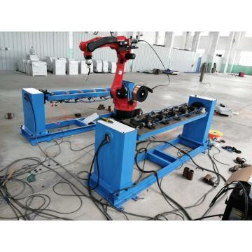 Automatic robot welding manipulator  arm