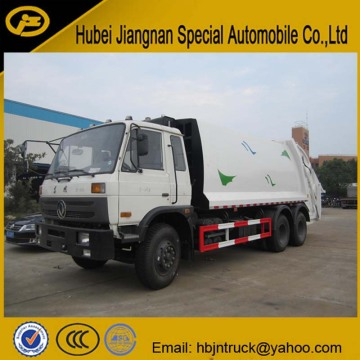16 cubic meters Rear Loader Garbage Compactor Truck