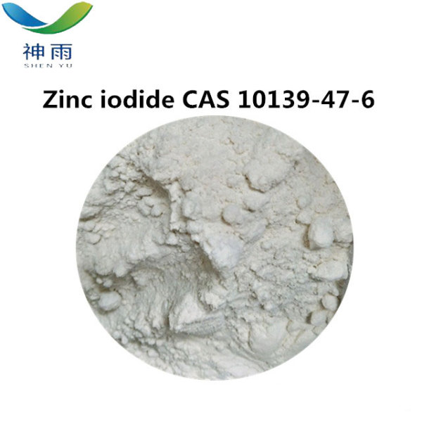 White Crystal Powder Zinc Iodide