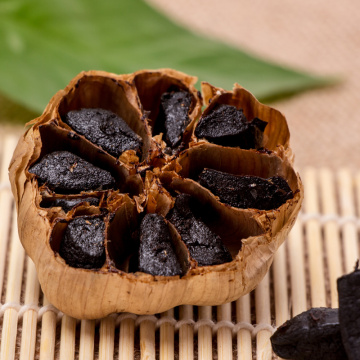 Fascinating ingredient Black Garlic With Good Taste