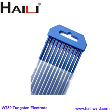WT30 Purple 2% tungsten electrode