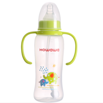270ml Baby Milk Nursing Bottle With Handle