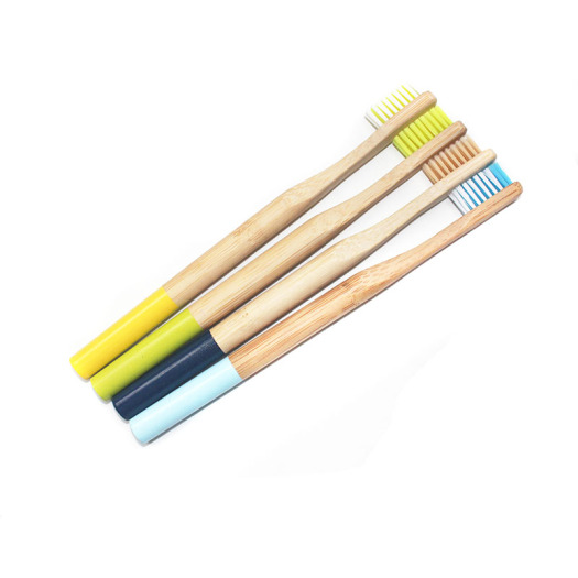 Eco-friendly  Charcoal Infused Bamboo Toothbrush BPA Free