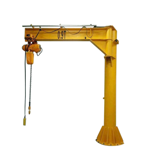 360 degree small jib crane for sale