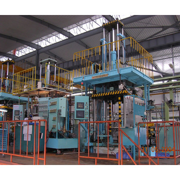 Electric low pressure casting machine