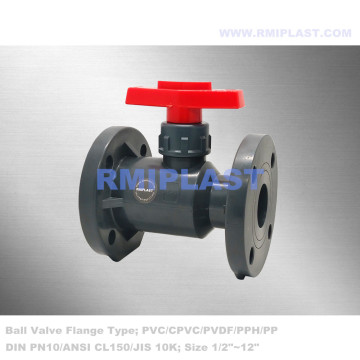 PPGF Ball Valve Flange End DIN PN16