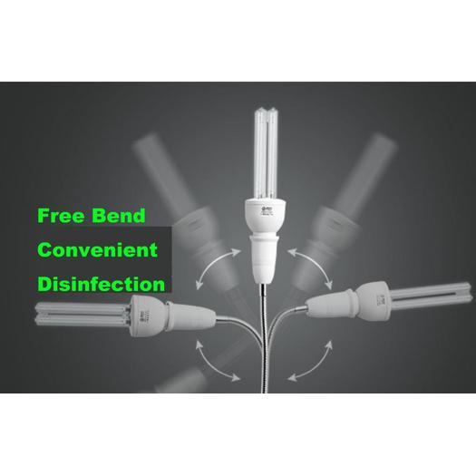 Portable bactericidal uv sterilization disinfection lamp