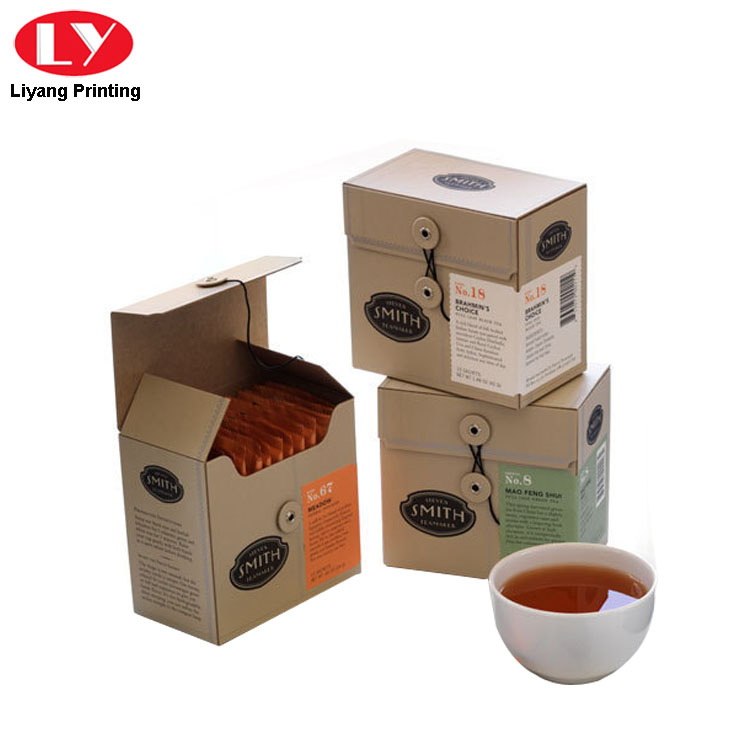 Tea Box Close By String