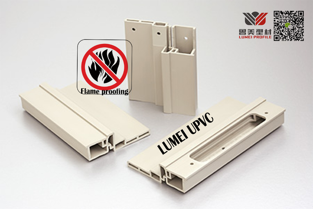FLAME RESISTANT UPVC CONCRETE PROFILES