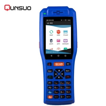 Mobile Handheld Terminal Non financial PDAs with Printer
