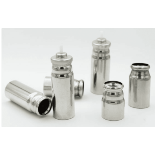 Anodized  MDI  Canisters aluminum