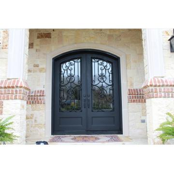 Factory Direct Exterior Wrought Iron Entrance Door