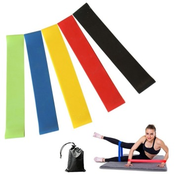 custom printed yoga loop resistance band