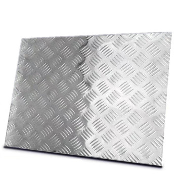 High Bar Height Aluminum Checkered Sheet for Trailer