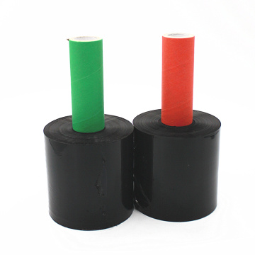 Black stretch shrink LLDPE packing wrap film