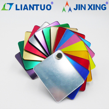 Color Plastic Polystyrene PS Mirror Sheet