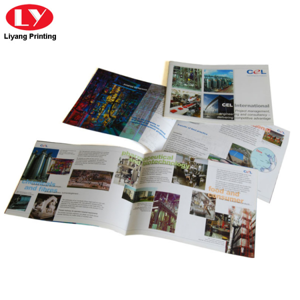 Colorful fasion magazine printing service